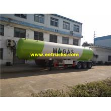 Remorques citernes GPL à trois essieux, 30 tonnes