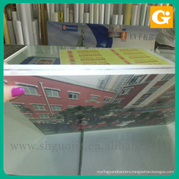 Super UV offset printing, plate thickness of snow