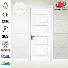 JHK-011 Best Quality Trough HDF Whiter Primer Swing Door
