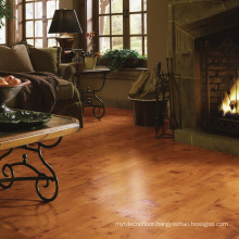 Traditional laminate sapele plank floor