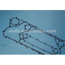 Alfa lavel M10M gaxeta relacionada para o permutador de calor, nbr, epdm, Viton® material disponível, temos o estoque