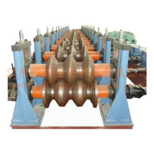 Steel Two Waves Guardrail Roll Forming Machine Manufacturer for Dubai