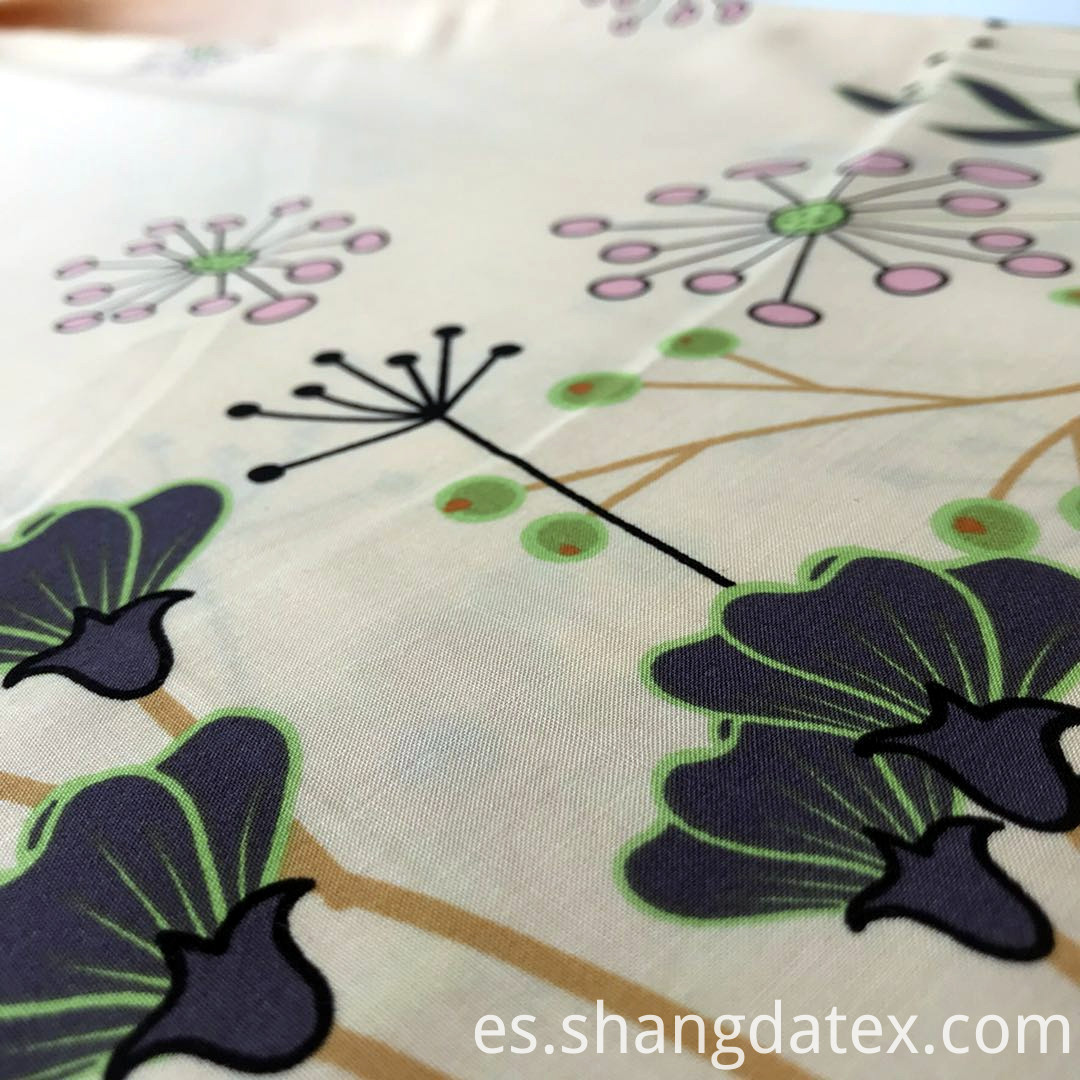 colorful ground screen print fabric