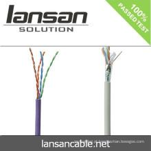 2014 venda quente FLUKE testado cabo de comunicação Cat5e / cabo de rede / cabo LAN