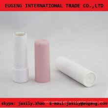 Klassischer rosa runder Lippenbalsambehälter