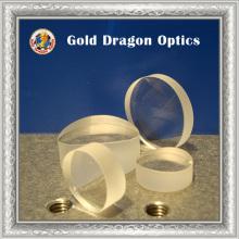 Durchmesser 1 Zoll Quarzglas rund plan-konkav zylindrisch
