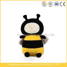 Brinquedos de abelha de mel Brinquedos de pelúcia de abelha