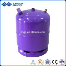 Saudi-Arabien Markt 3 kg LPG-Gasflasche in Minigröße