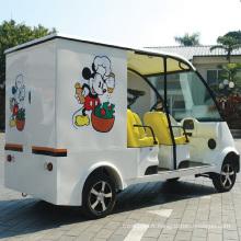 CE approuve la voiture de livraison de nourriture électrique à batterie (DU-F4)