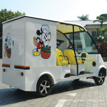 CE Approve Battery Powered Electric Food Delivery Car (DU-F4)