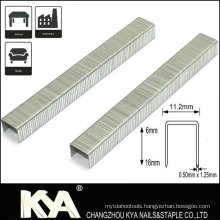 73 Series Fine Wire Staples for Furniture and Packing
