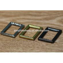 Handbag accessories factory metal no pin buckle,metal buckle for handbags