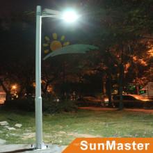 Luces de calle solares todo en uno de 12W con sensor