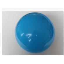Kleine blaue PVC-Kugel. Kundengebundener Drucklogo-PVC-Wasserball