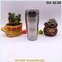 100% Leak Proof Stainless Steel Vacuum Travel Mug (SH-SC48)