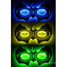 New Glow Mask of Bat Shape for Halloween