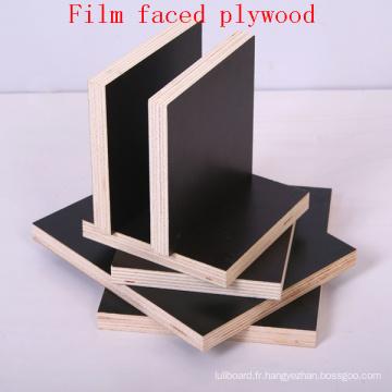 Contreplaqué de film noir / contreplaqué de coffrage / contreplaqué marin