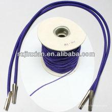 Corde élastique avec des clips en métal, cordon élastique