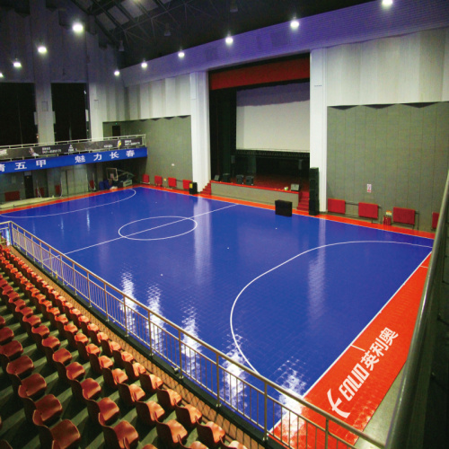 Tuiles sportives de Futsal Interlock