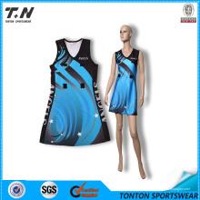 China Wholesale Custom Sublimação Netball vestido Netball