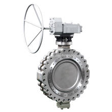 Lug Wafer Double Offset Butterfly Valve