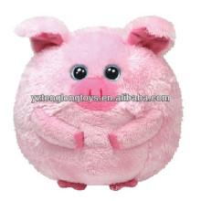 ¡Promoción! Juguete de pelota de felpa de cerdo graso encantador en estilo animal