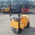 Compactador vibratório do rolo de estrada do solo 800kg mini
