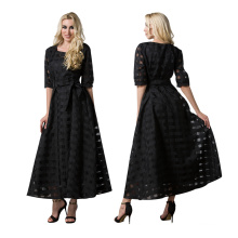 Premium quality polyester women muslim islamic casual dress abaya
