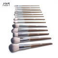 14 Premium Massivholz Make-up Pinsel Morphe Pinsel
