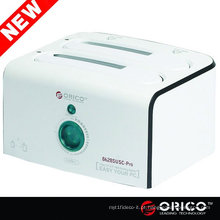 ORICO 8628SUSC-PRO Dual / 2 / 2bay, USB 2.0 + eSATA, HDD Docking Station, clone Clone duplicador de disco rígido