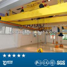 Guindaste de sobrecarga 30T com grua elétrica indoor usar armazenamento de fábrica, duplo feixe, eficiência elevada