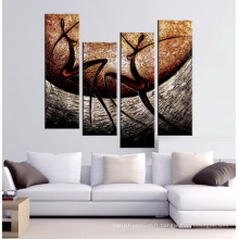 Belle peinture à l'huile moderne