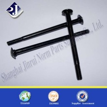 Round Head Black Zinc Plated Carbon Steel Carriage Bolt