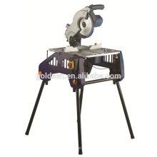 Corte de corte de alumínio de 250mm 1800w Cortado Saia de madeira da mesa da poder elétrica da serra