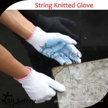 Безопасность SRSafety Белые хлопчатобумажные рабочие перчатки / хлопчатобумажная пряжа