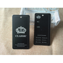 Paper Tag for Clothing with Hot Stamping