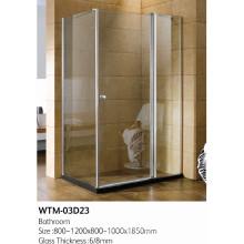 Faltbare Duschtür für guten Preis Wtm-03D23