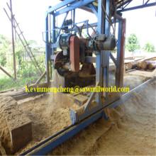Sierra para madera automático CNC corte máquina alta precisión doble hoja