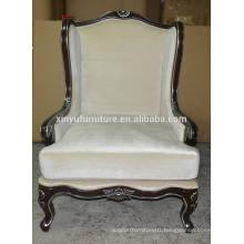 Hotel guestroom/reception room wooden arm sofa chair XYN70