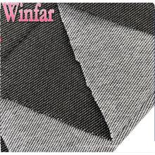 Tissu de denim de polyester d'usine de textile de tricot pour des jeans