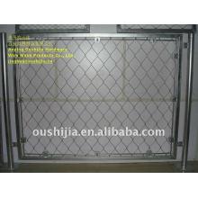 high tensile steel wire screen mesh/animal enclosures/zoo mesh/security screen stainless steel wire mesh