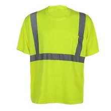Reflective Strip High Visibility Safety T-Shirts