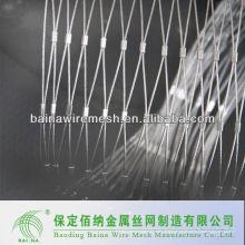 Sicherheits-Edelstahl-Schnalle Mesh / Seil Mesh in China gemacht