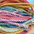3/4 hilos de los materiales reciclados poliéster del PE del PE de los cables para el embalaje / la pesca / el paquete / el amarre