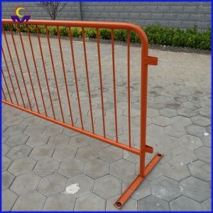 Abnehmbare Spray Paint Metal Crowd Control Barriere