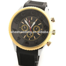 Newest!!Hot Selling promotional cheap price thin rubber sport watch for Valentines day gift