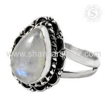Precioso anillo de plata de piedras preciosas RMS al por mayor 925 joyería de plata esterlina Jaipur Joyería de plata hecha a mano en línea
