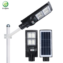Sensor de radar integrado ABS ip65solar luz de carretera led