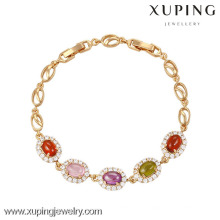 73935- Xuping Jewelry Hight Quality Generous Woman Bracelet with 18K Gold Plated
