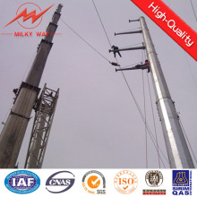 12m postes 30kv líneas postes de acero octagonales